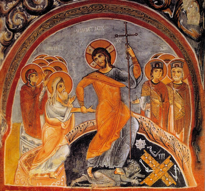 The Descent of Christ into Hades dans immagini sacre christ-the-conqueror-of-hell1